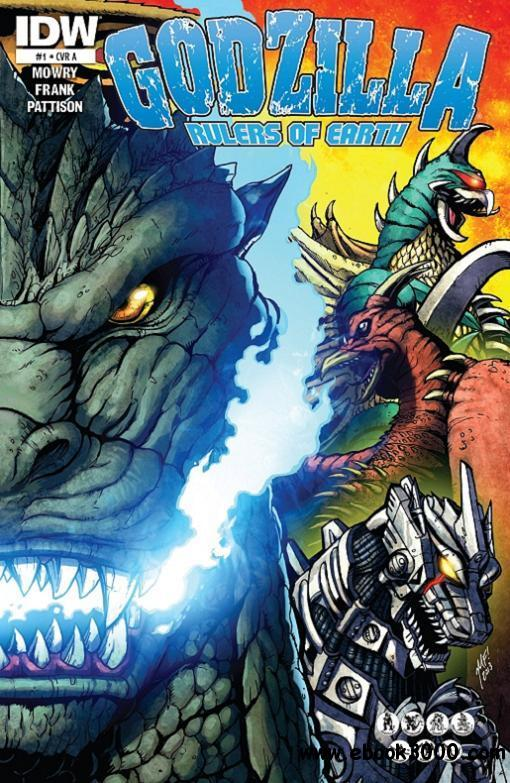 Godzilla Rulers Of Earth 001(2013) free download