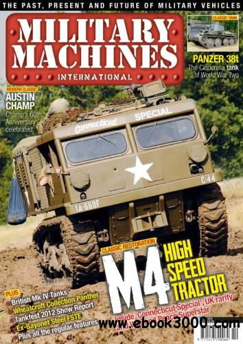 Military Machines International - October 2012 free download