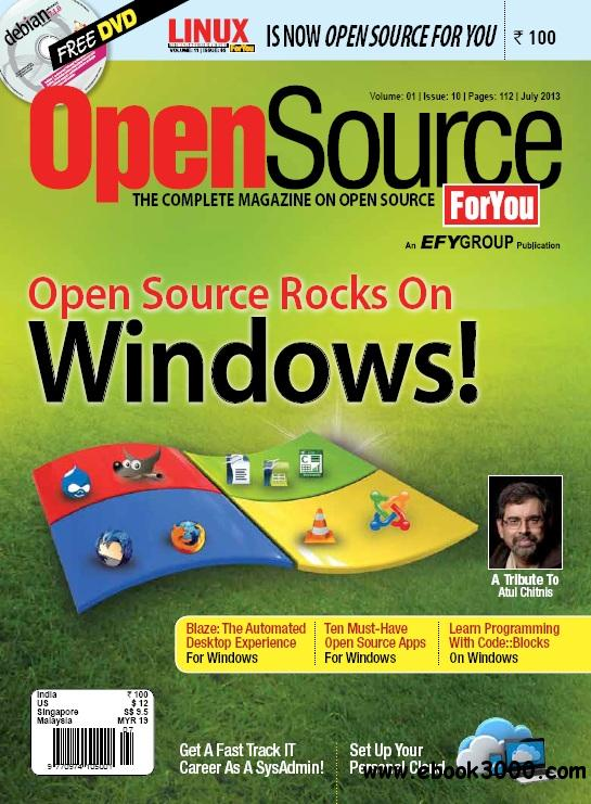 Open Source For You - July 2013 free download