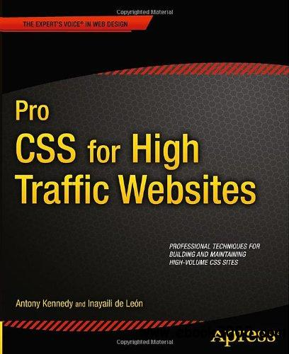 Pro CSS for High Traffic Websites free download