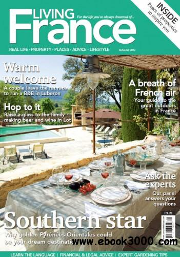 Living France UK - August 2013 free download