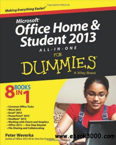 Microsoft Office Home & Student Edition 2013 All-in-One For Dummies free download