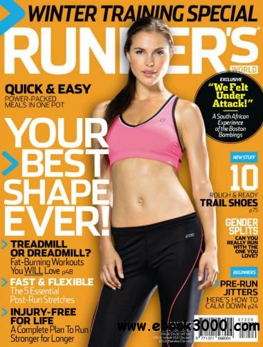 Runner's World South Africa - July 2013 free download