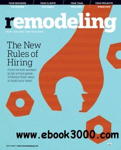Remodeling Magazine - July 2013 free download