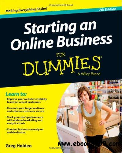 Starting an Online Business For Dummies, 7th edition free download