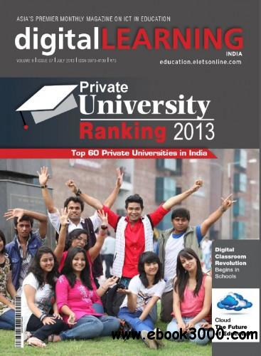 digital Learning India - July 2013 free download