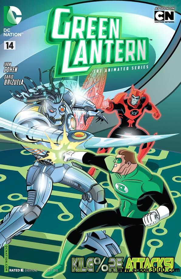 Green Lantern - The Animated Series 014 (2013) free download