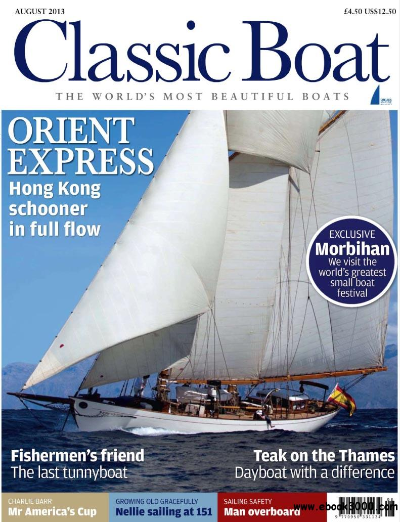 Classic Boat - August 2013 free download