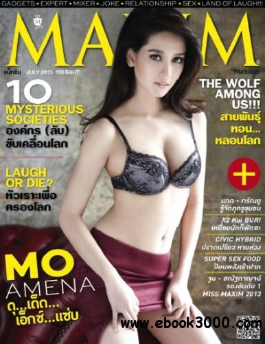 Maxim Thailand - July 2013 download dree