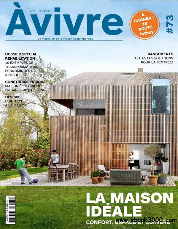 Architectures a Vivre No.73 - Juillet/Aout 2013 free download