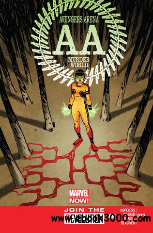 Avengers Arena 012 (2013) free download