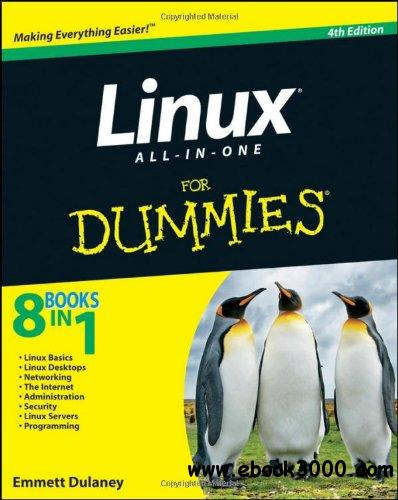 Linux All-in-One For Dummies, 4th Edition free download