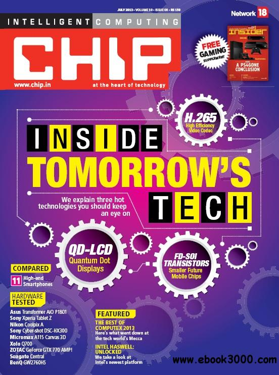 CHIP India - July 2013 free download