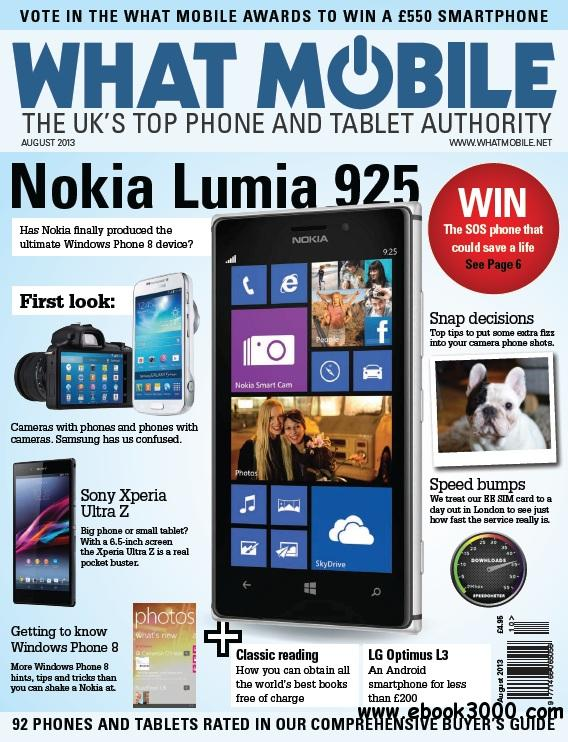 What Mobile - August 2013 free download
