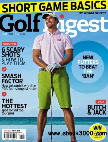 Golf Digest - August 2013 free download