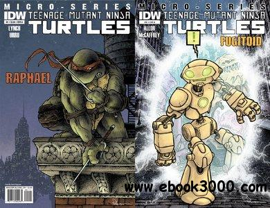 Teenage Mutant Ninja Turtles Micro Series #1-8 (2011-2012) Complete free download