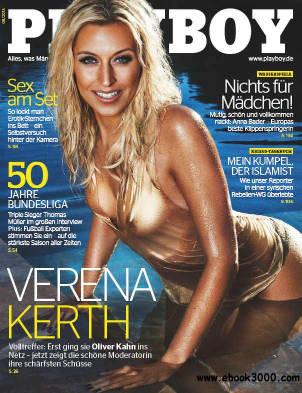 Playboy Germany - August 2013 free download