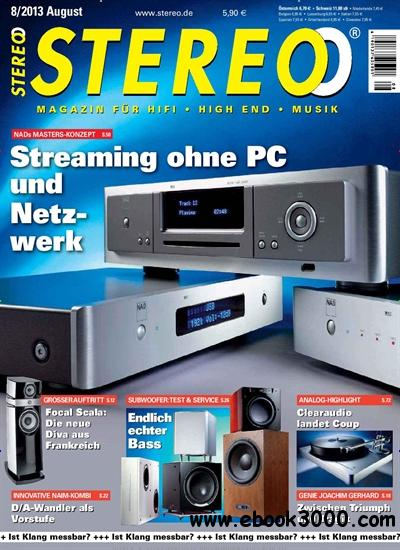Stereo Magazin August No 08 2013 download dree