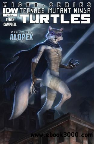 Teenage Mutant Ninja Turtles - Villains Micro-Series - Alopex 004 (2013) free download