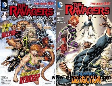 The Ravagers #0-12 (2012-2013) Complete free download
