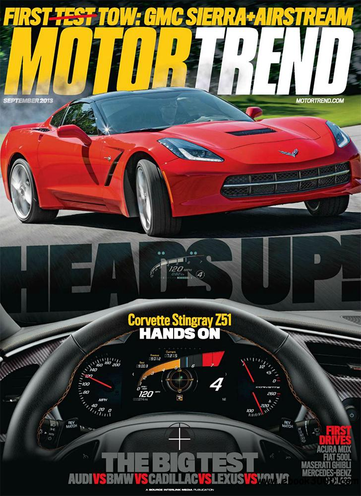 Motor Trend September 2013 (USA) free download