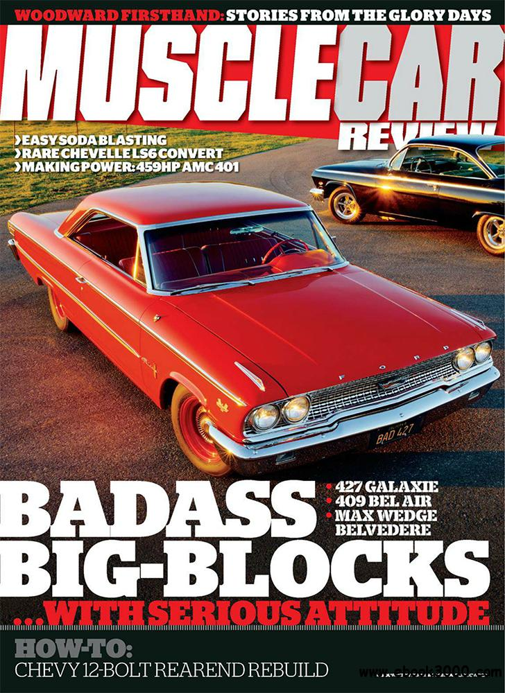Muscle Car Review August 2013 (USA) free download