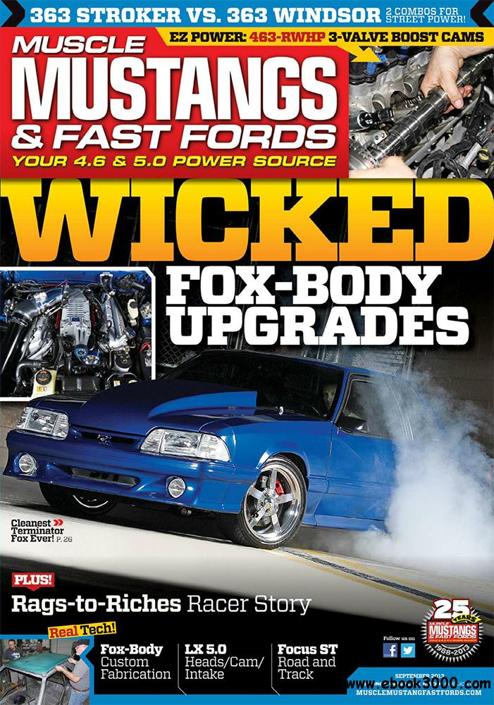 Muscle Mustangs & Fast Fords September 2013 (USA) free download