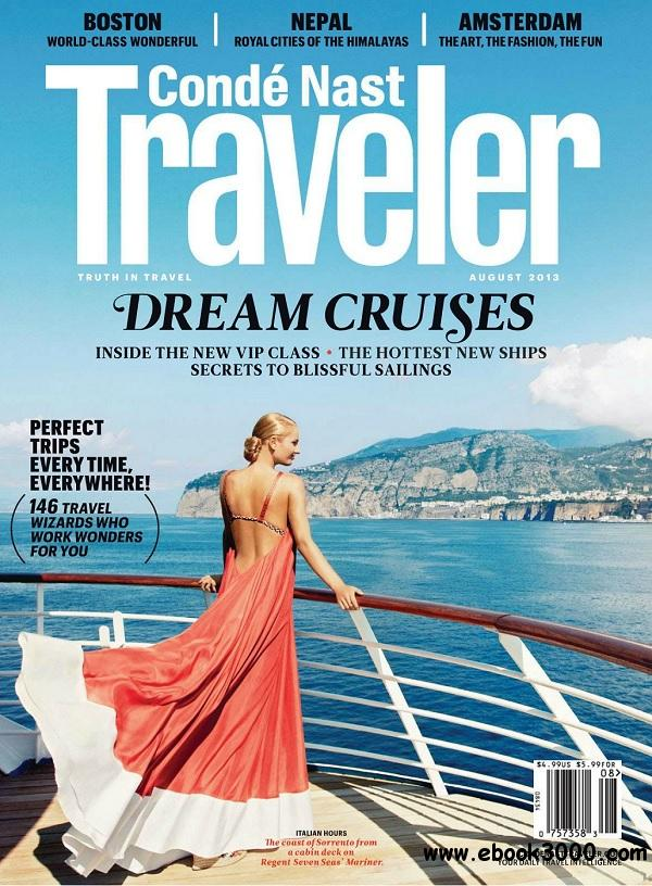 Conde Nast Traveler USA - August 2013 free download