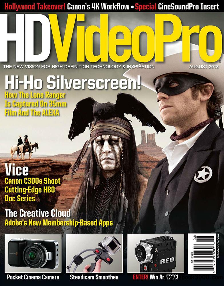HDVideoPro August 2013 (USA) free download