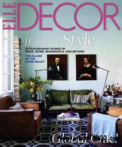 Elle Decor September 2013 (USA) free download