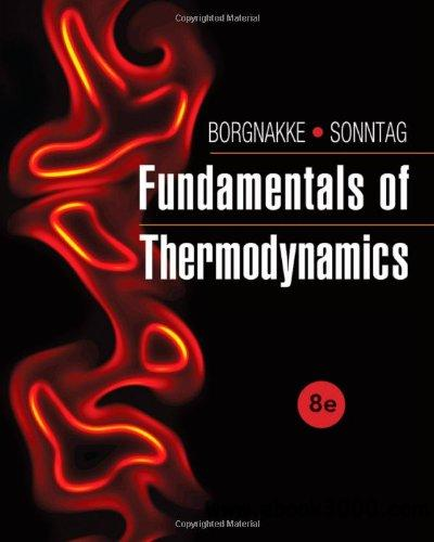 Fundamentals of Thermodynamics, 8th edition download dree