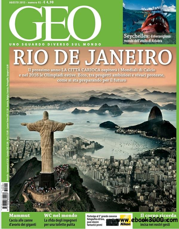Geo Italia - Agosto 2013 free download