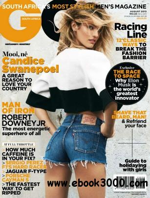 GQ South Africa - August 2013 free download