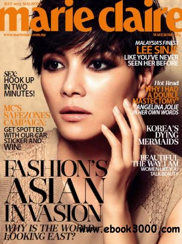 Marie Claire Malaysia - July 2013 free download