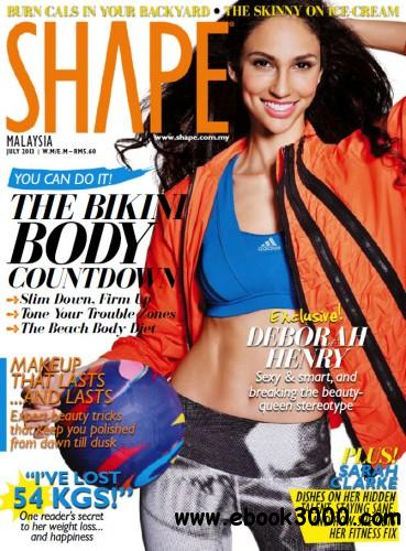 Shape Malaysia - July 2013 free download