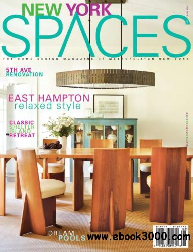 New York Spaces - July August 2013 free download