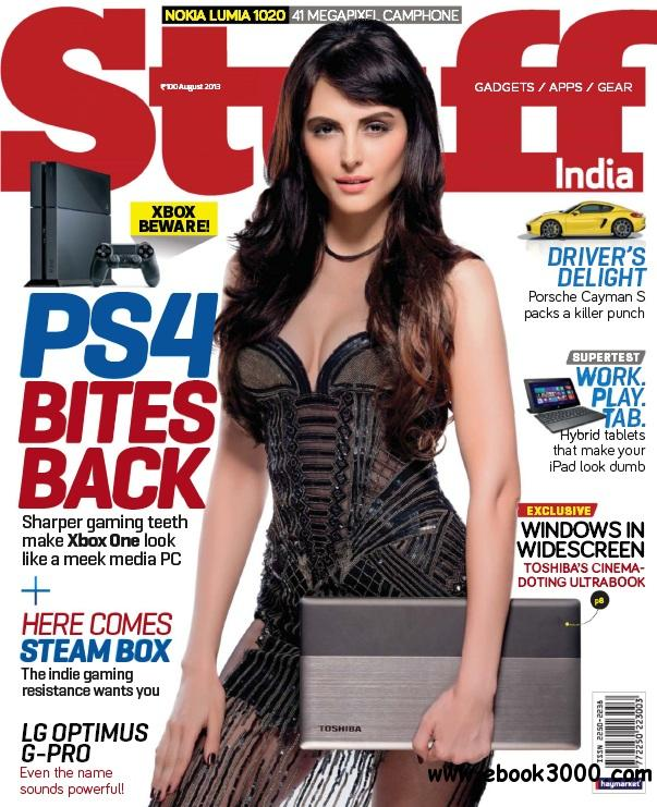 Stuff India - August 2013 free download