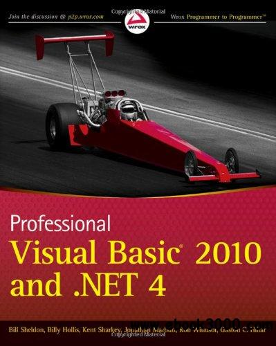 Professional Visual Basic 2010 and .NET 4 free download