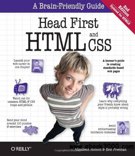 Head First HTML and CSS, 2nd Edition free download