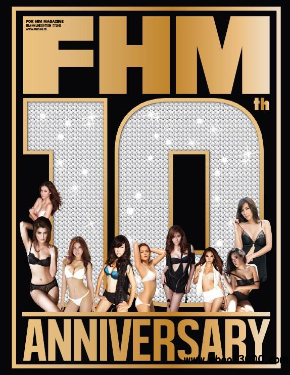 FHM Thailand - July 2013 free download