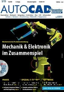 AUTOCAD & Inventor Magazin Juni Juli No 05 2013 free download