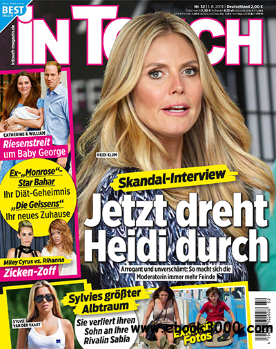 In Touch Magazin No 32 vom 01 August 2013 free download