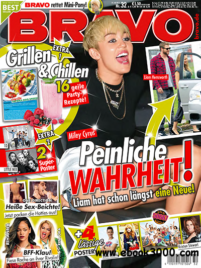 Bravo Magazin No 32 vom 31 Juli 2013 free download
