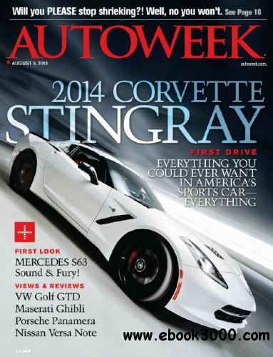 Autoweek - 5 August 2013 free download