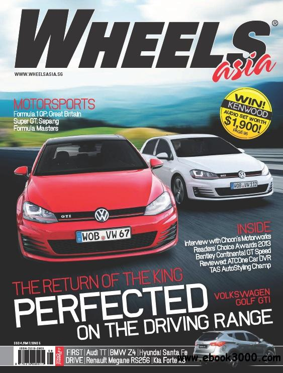 Wheels Asia - August 2013 free download