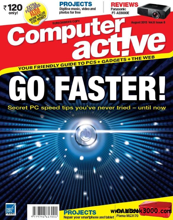Computer Active India - August 2013 free download