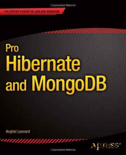 Pro Hibernate and MongoDB free download
