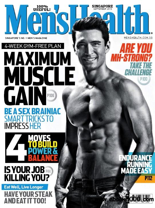 Men's Health Singapore - September 2013 free download