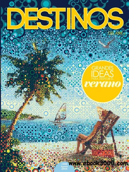 Destinos - Agosto 2013 free download