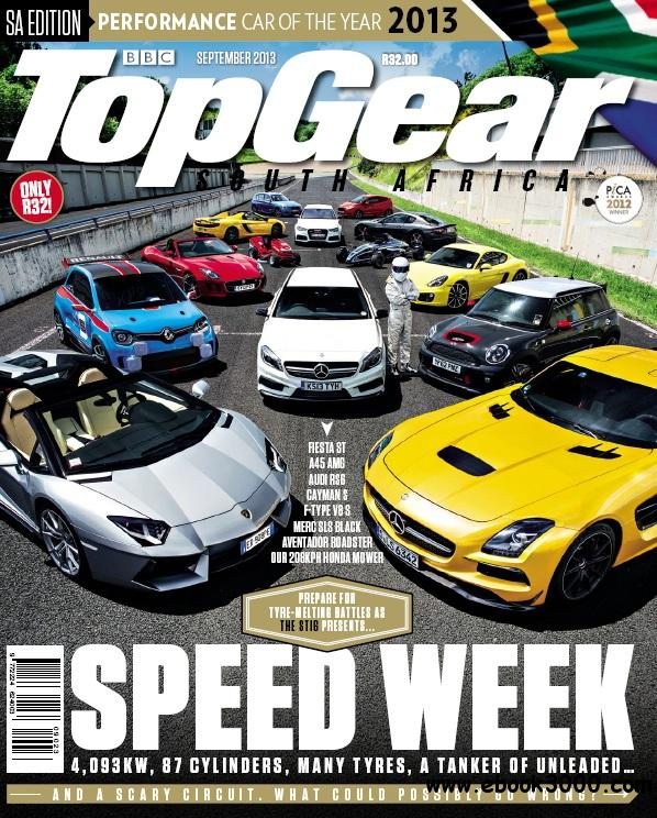 Top Gear South Africa - September 2013 free download